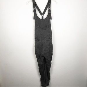 Free People Gray Overalls